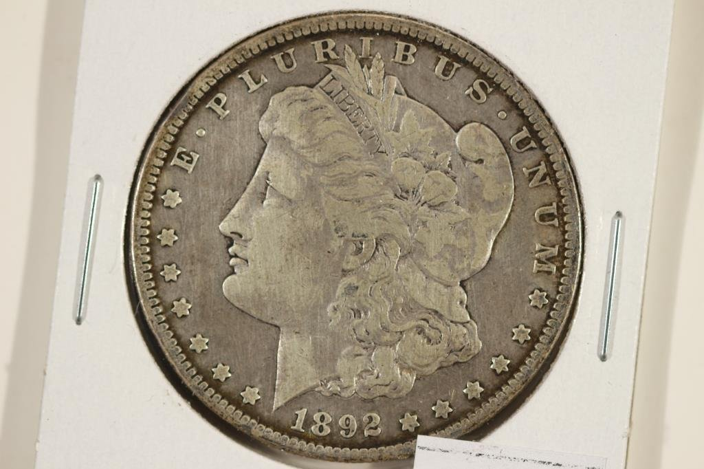 1892-S MORGAN SILVER DOLLAR BETTER DATE