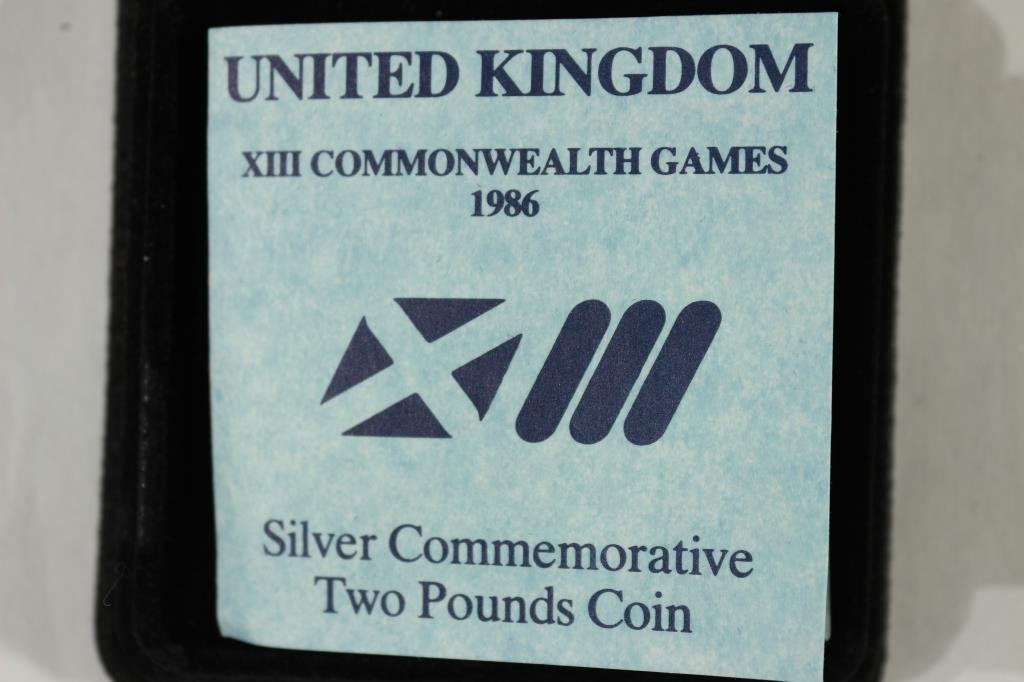 1986 UNITED KINGDOM SILVER COMMEMORATIVE 2 POUND - 3