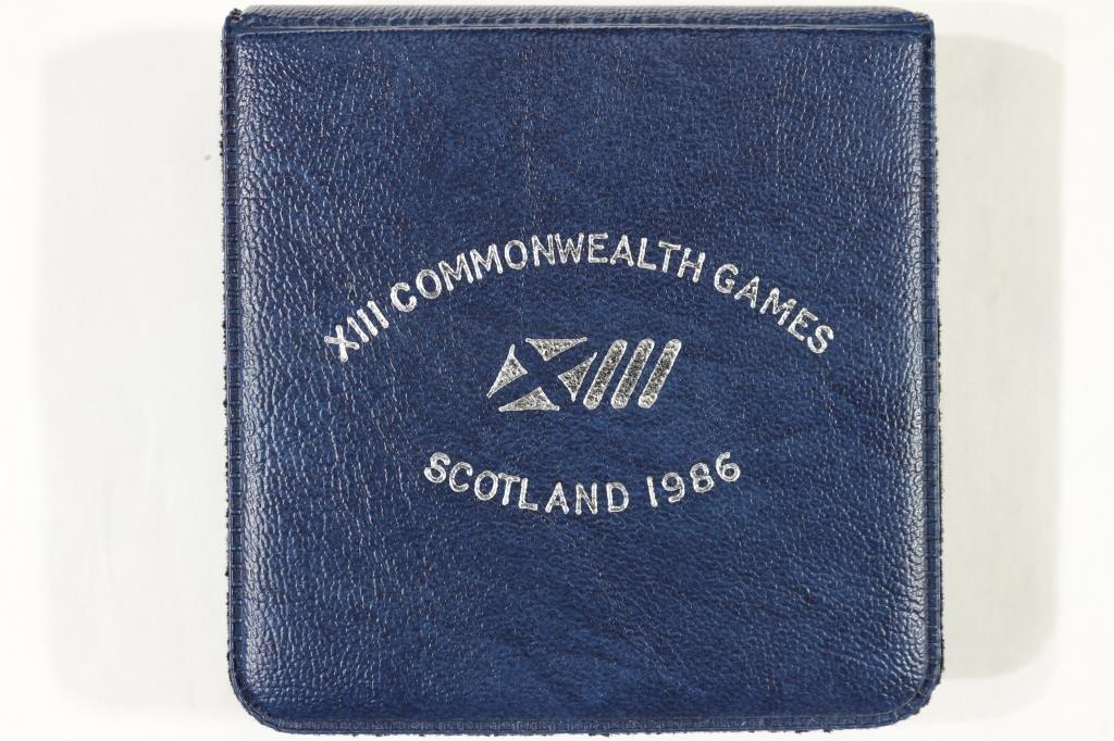 1986 UNITED KINGDOM SILVER COMMEMORATIVE 2 POUND - 4