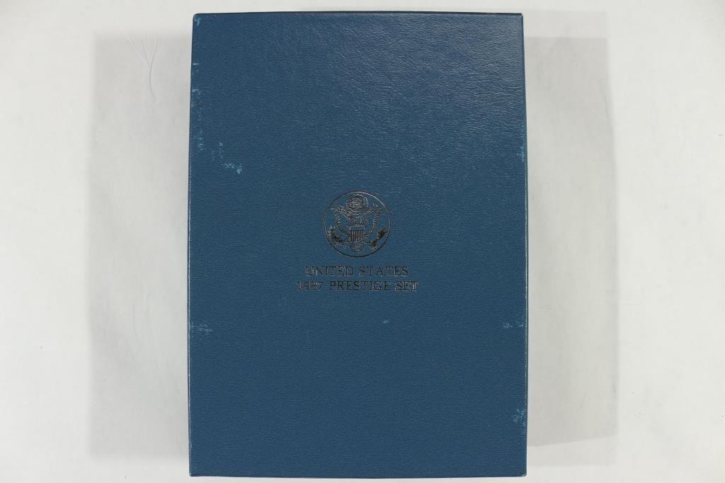 1987 US PRESTIGE PROOF SET  US CONSTITUTION - 4