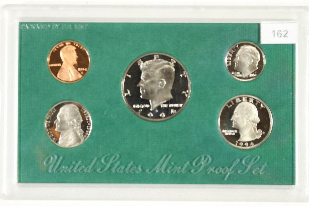 1994 US PROOF SET (WITH NO BOX)