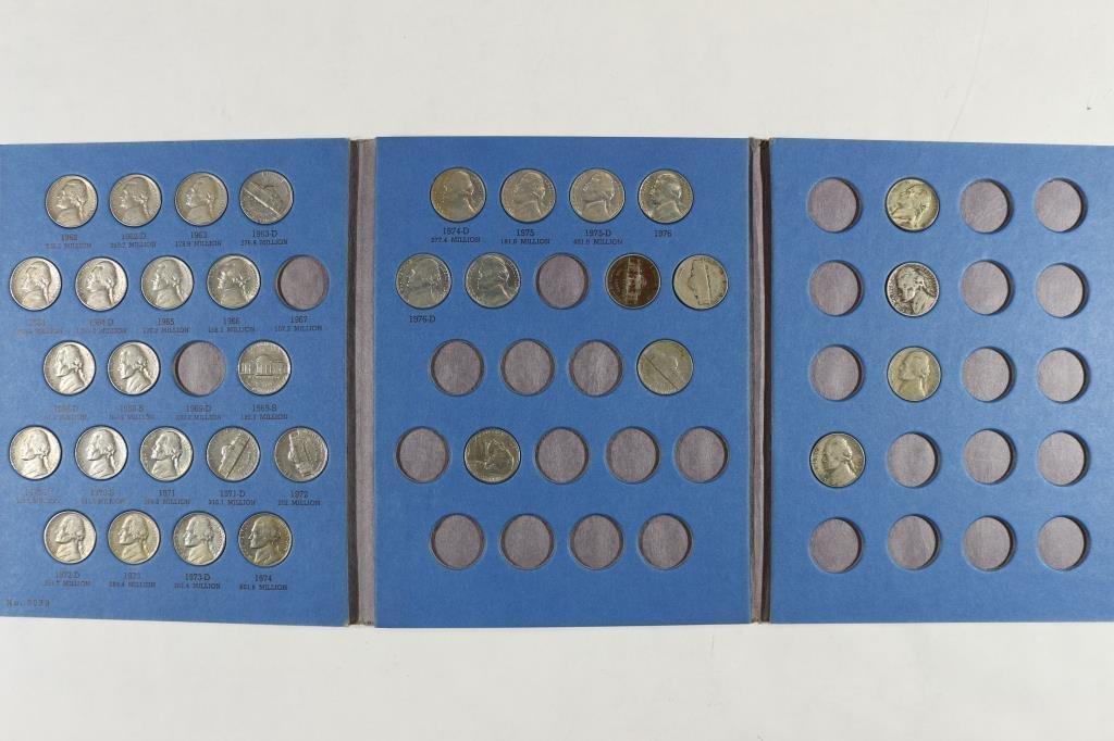 2 PARTIAL US COIN SETS SEE DESCRIPTION