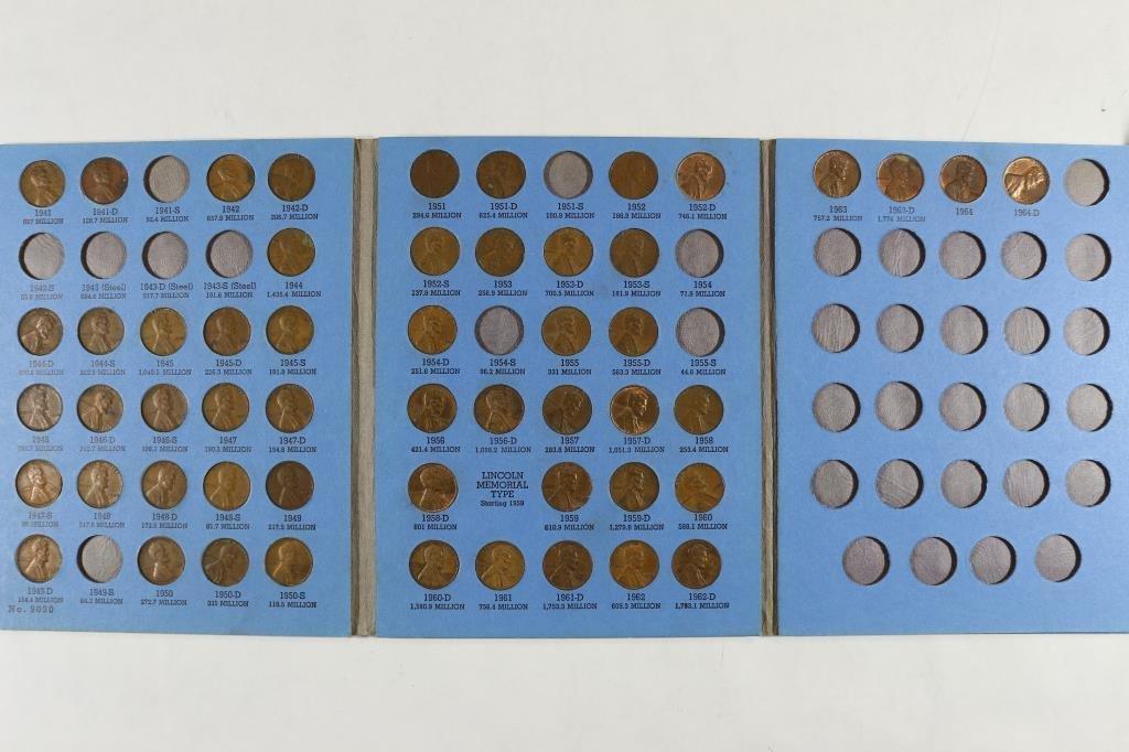 2 PARTIAL US COIN SETS SEE DESCRIPTION - 2