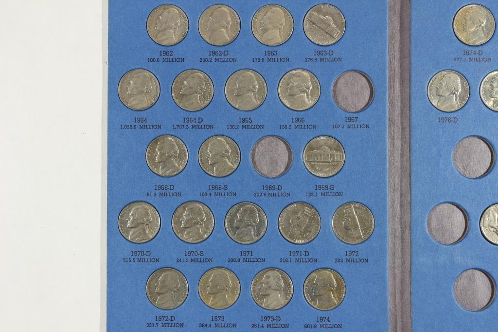 2 PARTIAL US COIN SETS SEE DESCRIPTION - 3