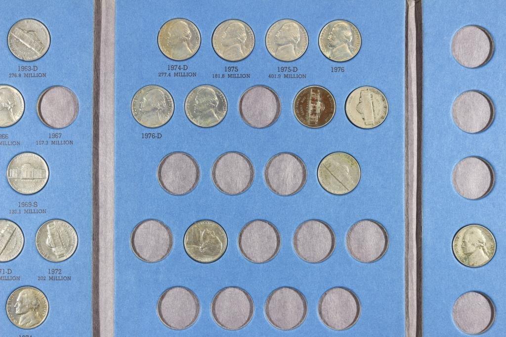2 PARTIAL US COIN SETS SEE DESCRIPTION - 4