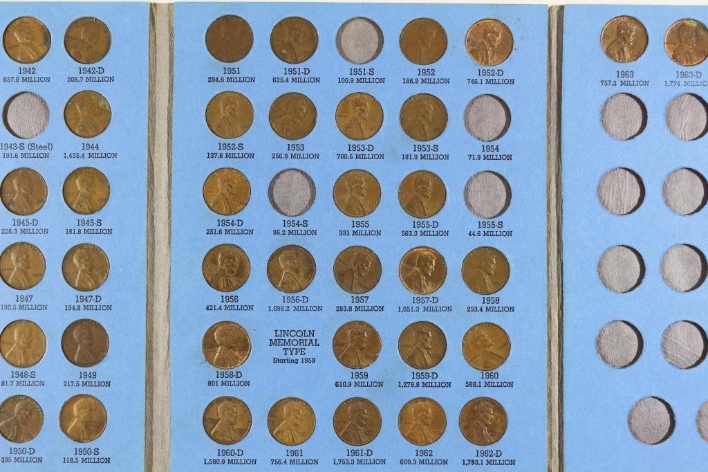 2 PARTIAL US COIN SETS SEE DESCRIPTION - 7