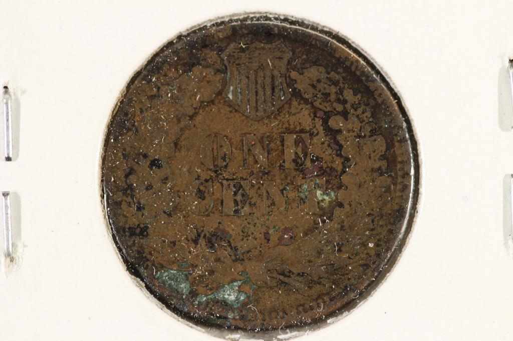 1878 INDIAN HEAD CENT (SEMI-KEY) - 2