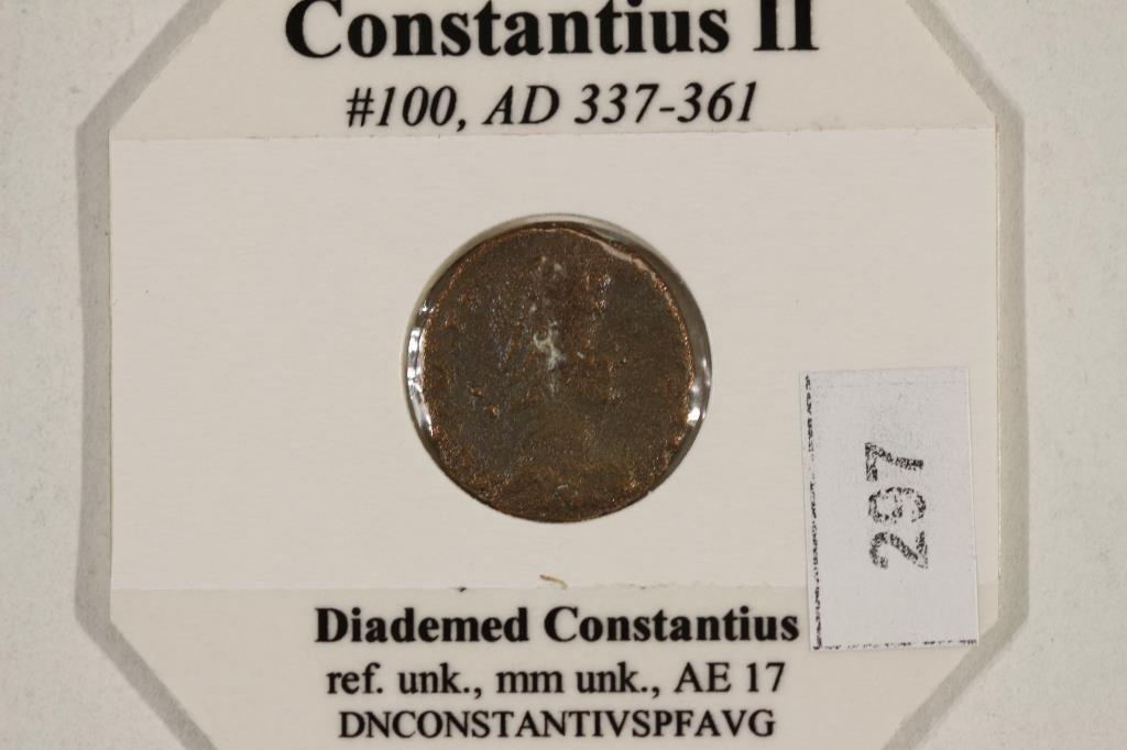 337-361 A.D. CONSTANTIUS II ANCIENT COIN - 3