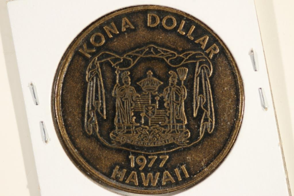 1977 HAWAII KONA TRADE DOLLAR
