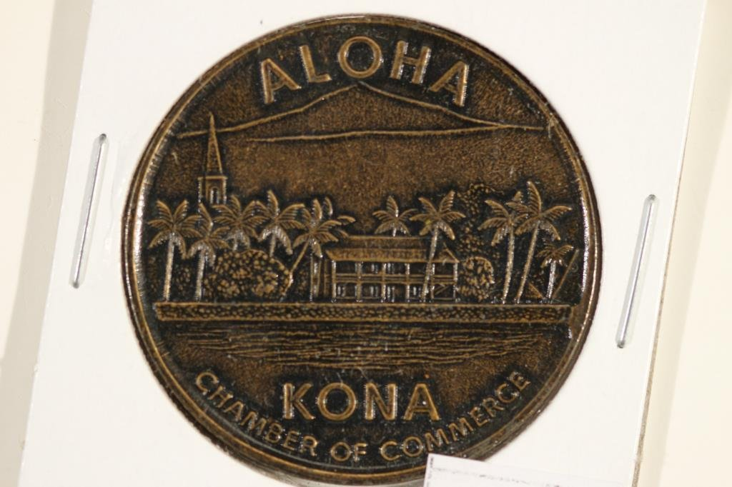 1977 HAWAII KONA TRADE DOLLAR - 2