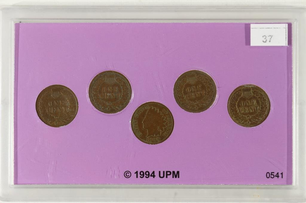 WILDWEST COIN COLLECTION WITH 5-INDIAN HEAD CENTS - 2