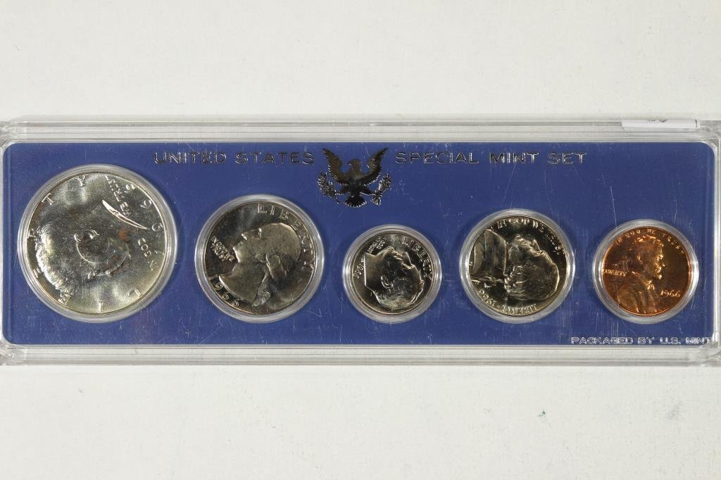 1966 US SPECIAL MINT SET WITH NO BOX