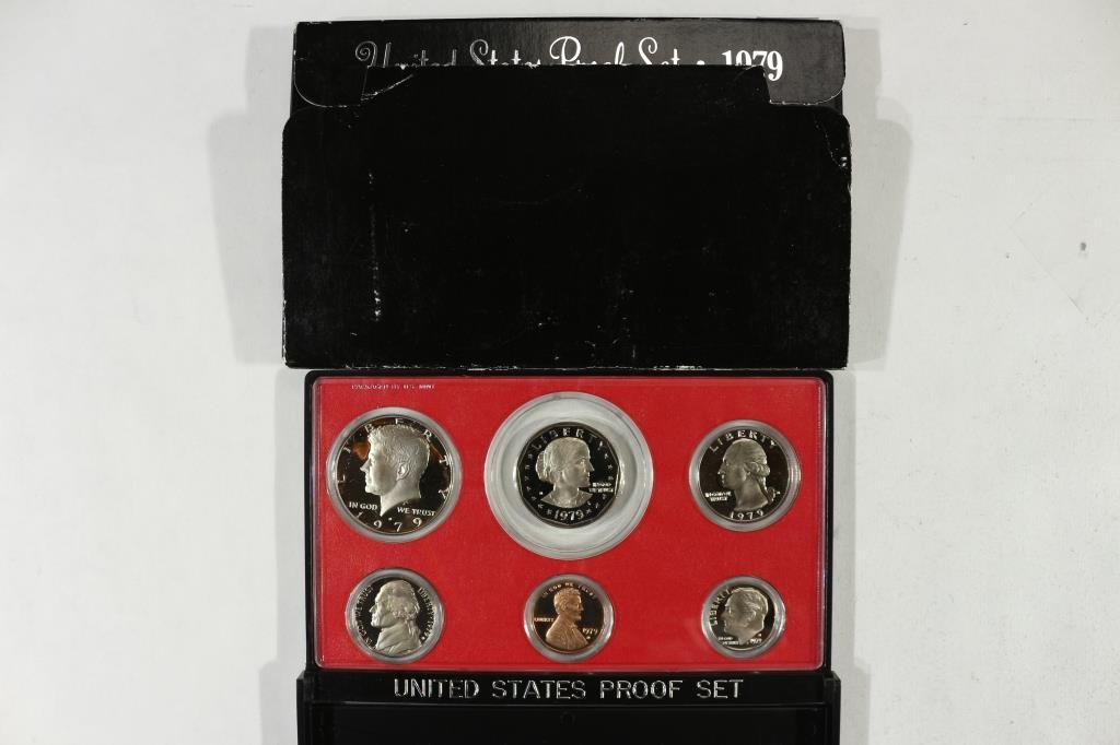 1979 US PROOF SET (WITH BOX)