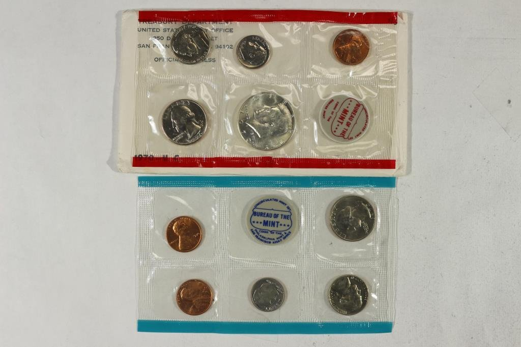 1970 US MINT SET (UNC) P/D/S (WITH ENVELOPE)