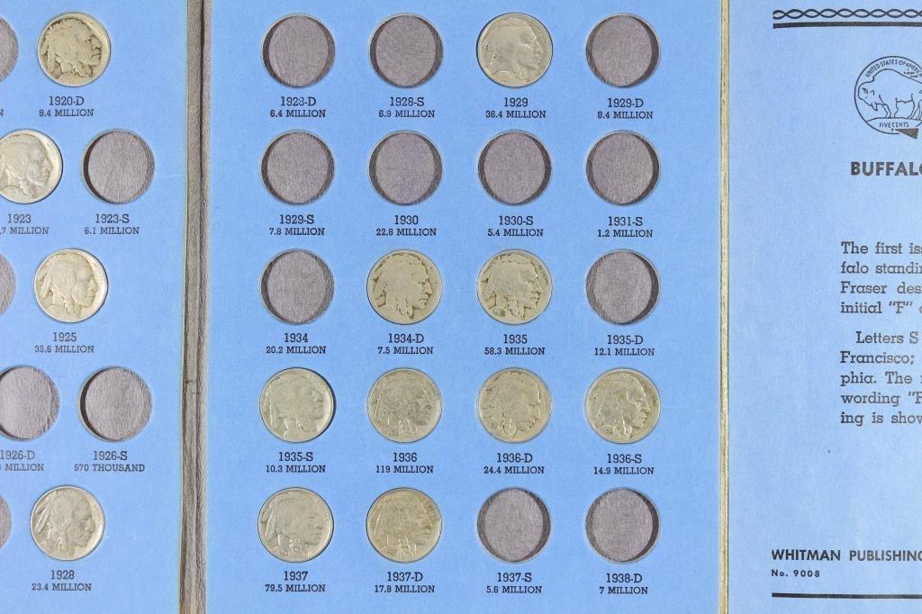 PARTIAL 1913-1938 BUFFALO NICKEL SET 16 COINS - 4