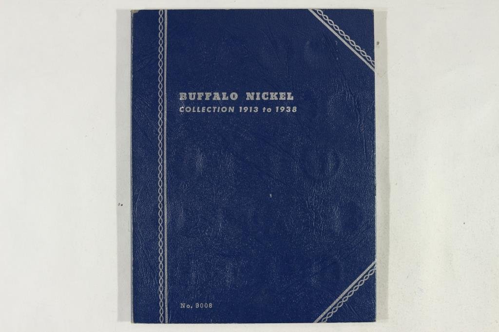 PARTIAL 1913-1938 BUFFALO NICKEL SET 16 COINS - 5