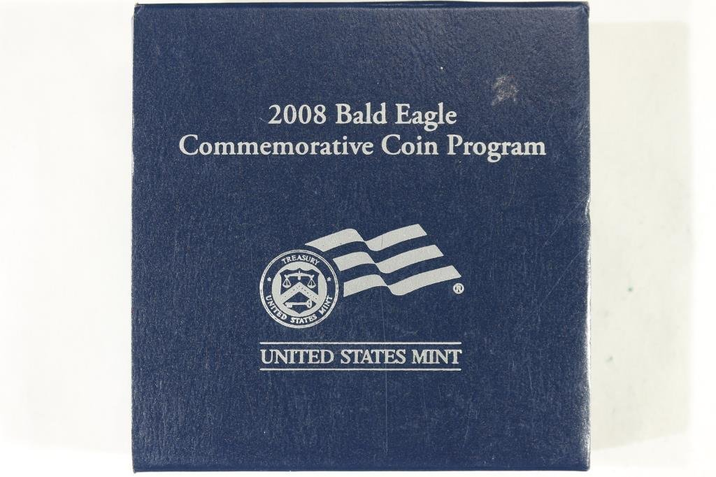 2008 BALD EAGLE PROOF SILVER DOLLAR - 3