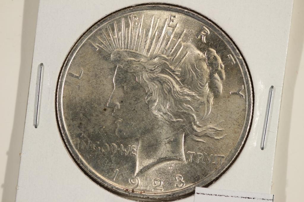 1923 MORGAN SILVER DOLLAR UNC