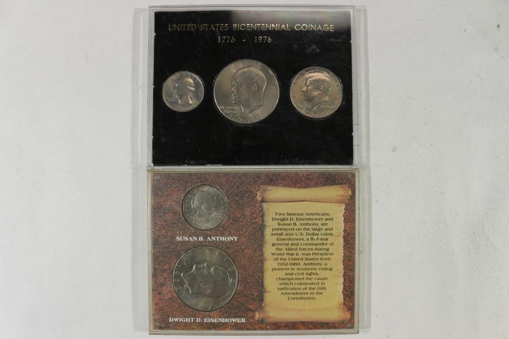 2 US COIN SETS SEE DESCRIPTION