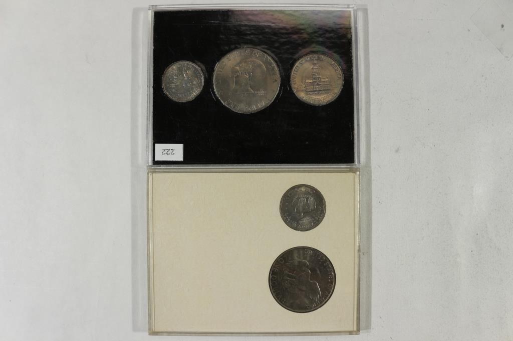 2 US COIN SETS SEE DESCRIPTION - 2