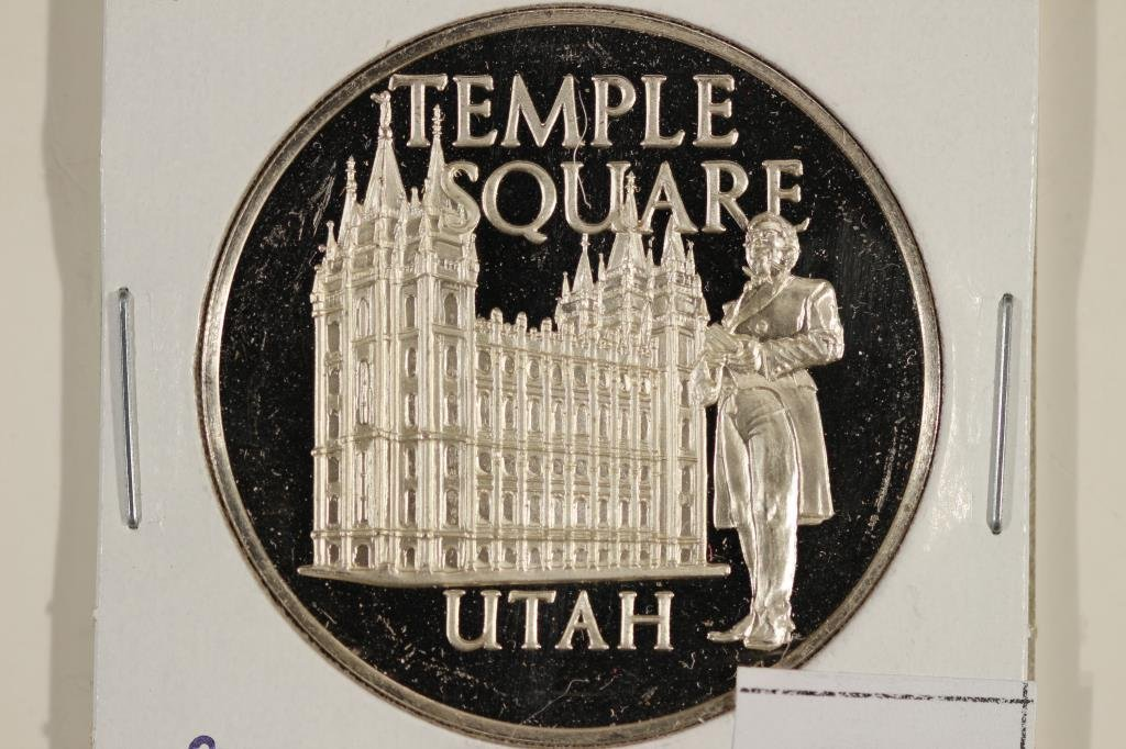 25.1 GRAM STERLING SILVER PROOF ROUND TEMPLE