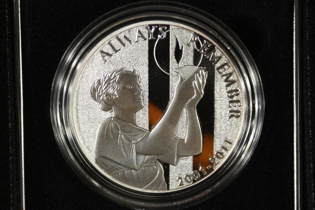 2011 US MINT SEPT. 11TH NATIONAL MEDAL PROOF