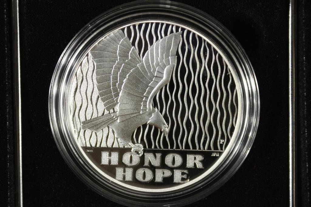2011 US MINT SEPT. 11TH NATIONAL MEDAL PROOF - 2