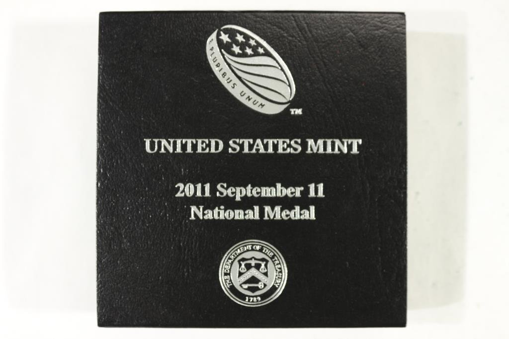 2011 US MINT SEPT. 11TH NATIONAL MEDAL PROOF - 3