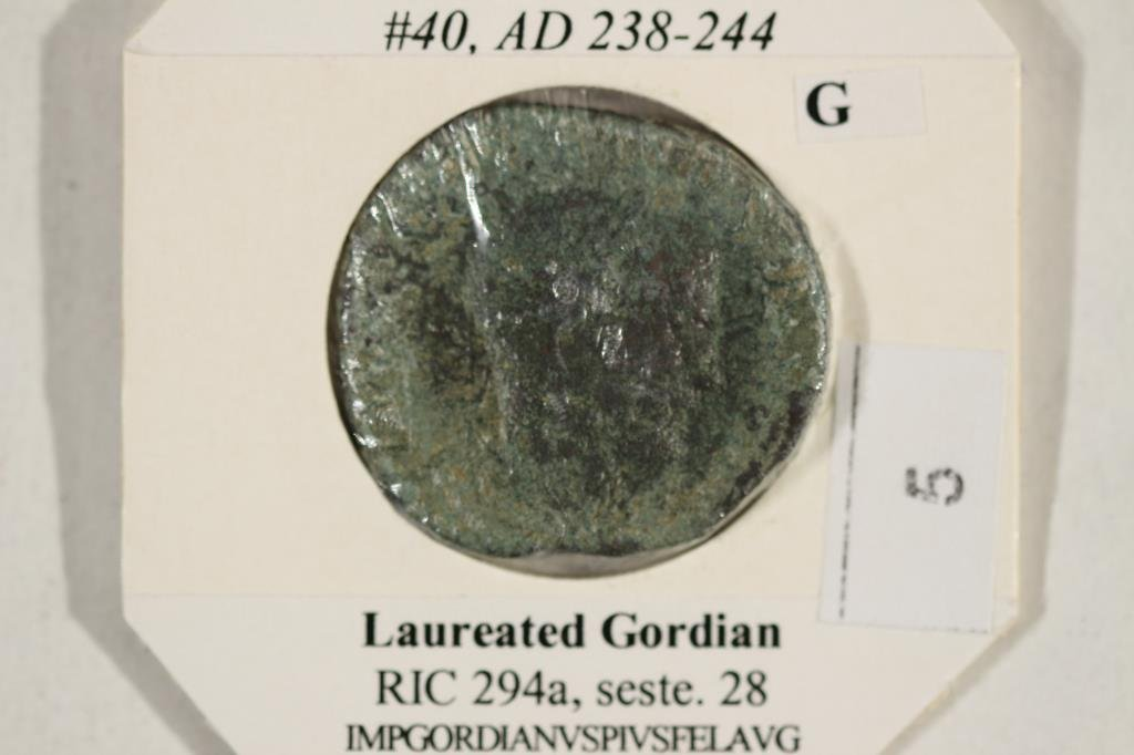 238-244 A.D. GORDIAN III ANCIENT COIN - 3