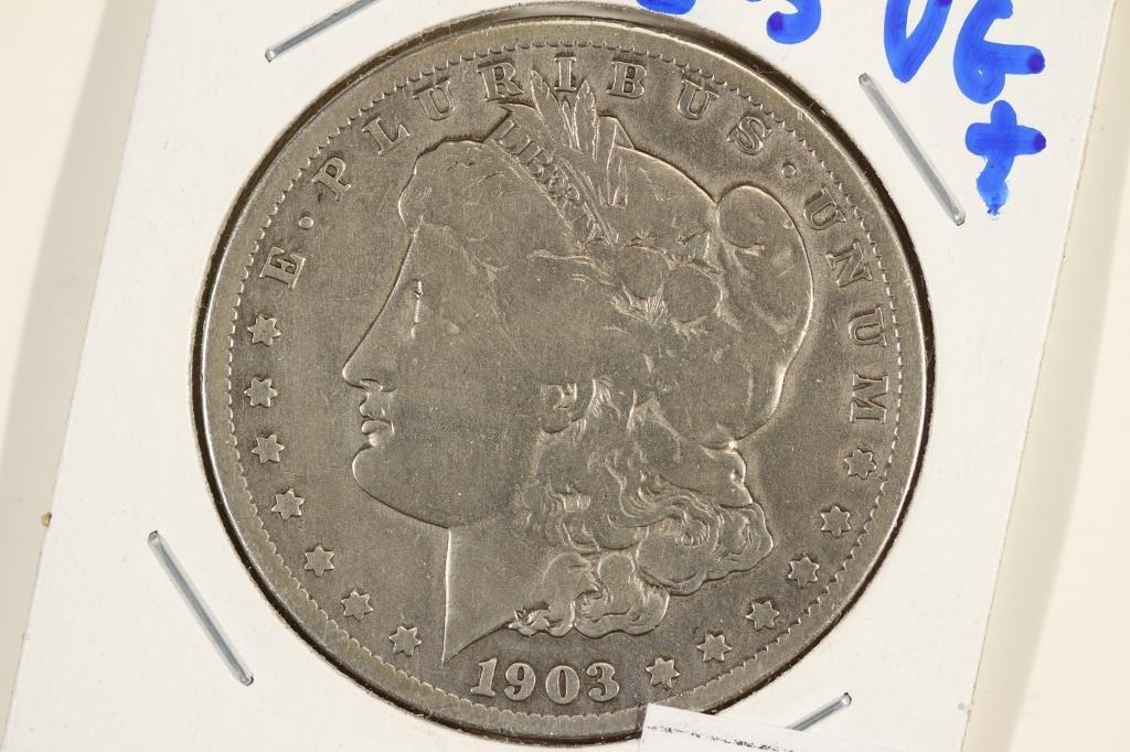 1903-S MORGAN SILVER DOLLAR BETTER DATE COIN