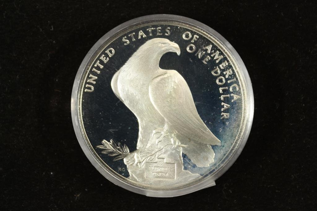 1984-S US OLYMPIC PROOF SILVER DOLLAR