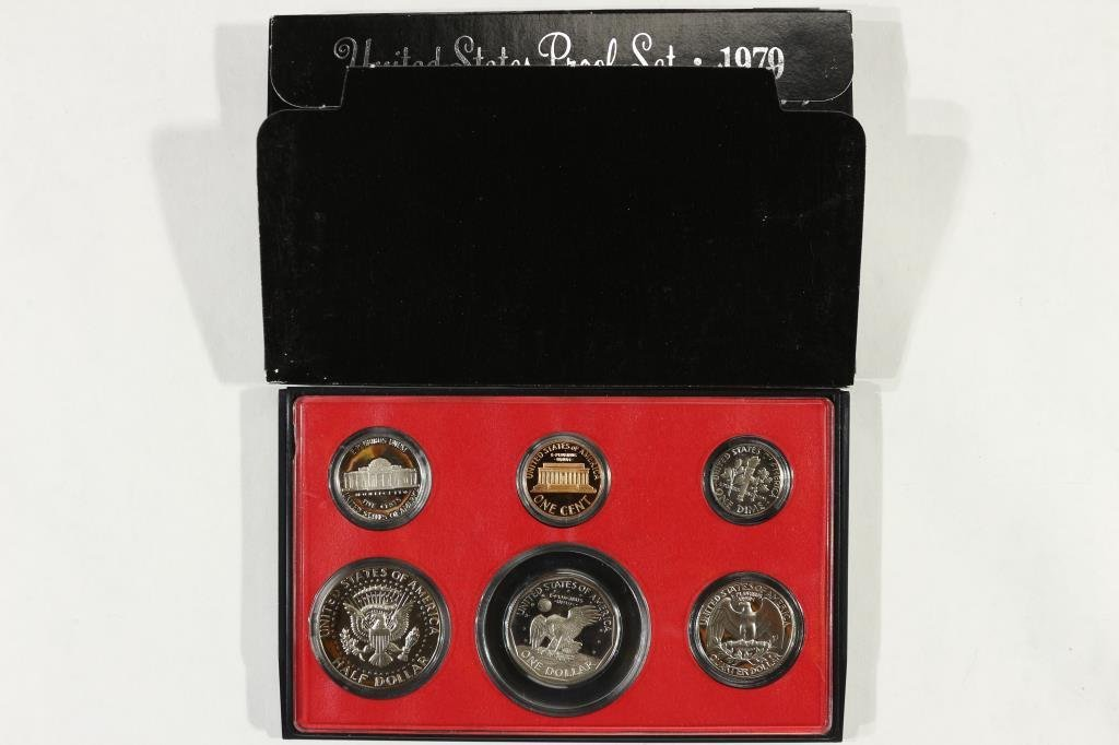 1979 US PROOF SET (WITH BOX) - 2