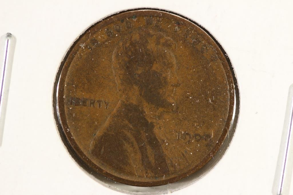 1909 VDB LINCOLN CENT VERY GOOD