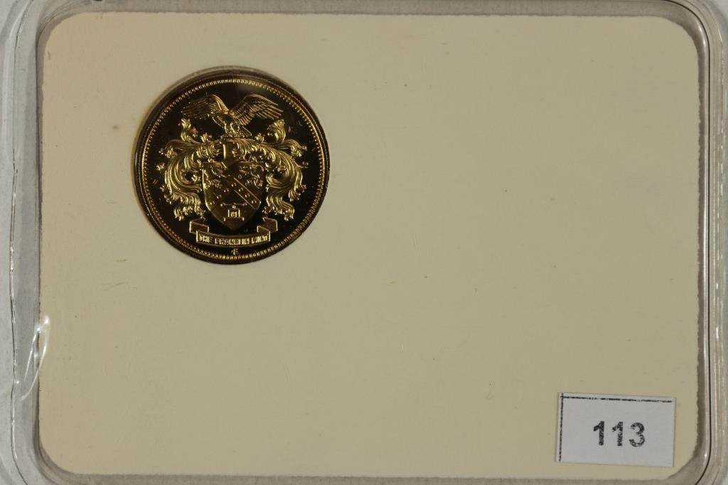 STERLING SILVER FRANKLIN MINT COLLECTORS SOCIETY - 2