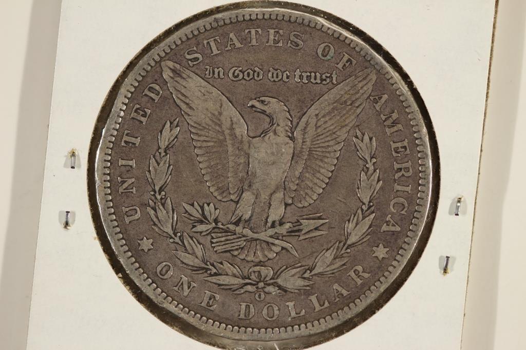 1890-O MORGAN SILVER DOLLAR - 2