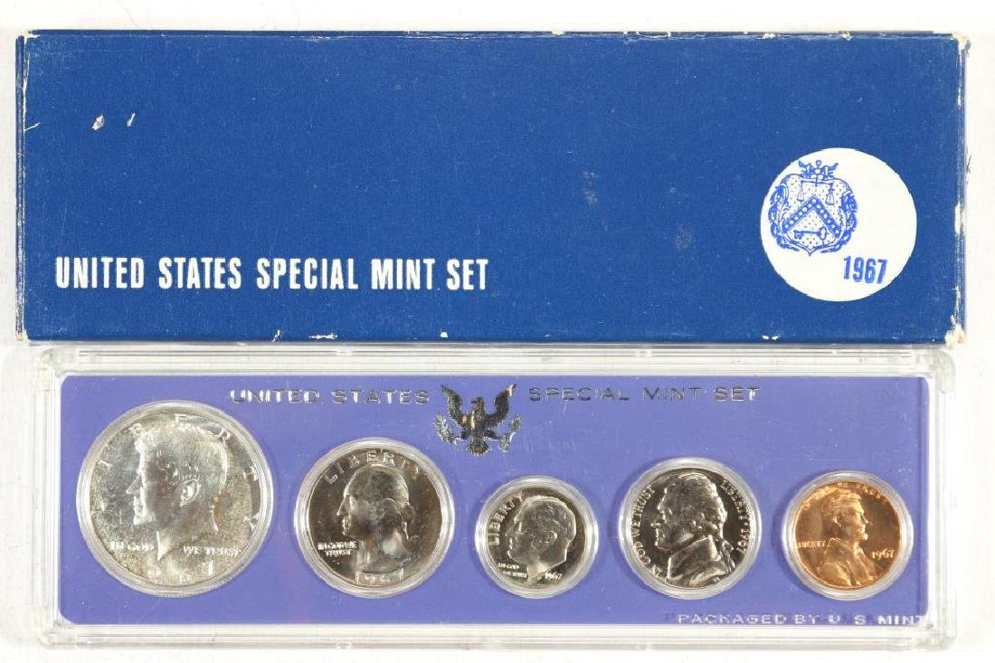 1967 US SPECIAL MINT SET WITH BOX