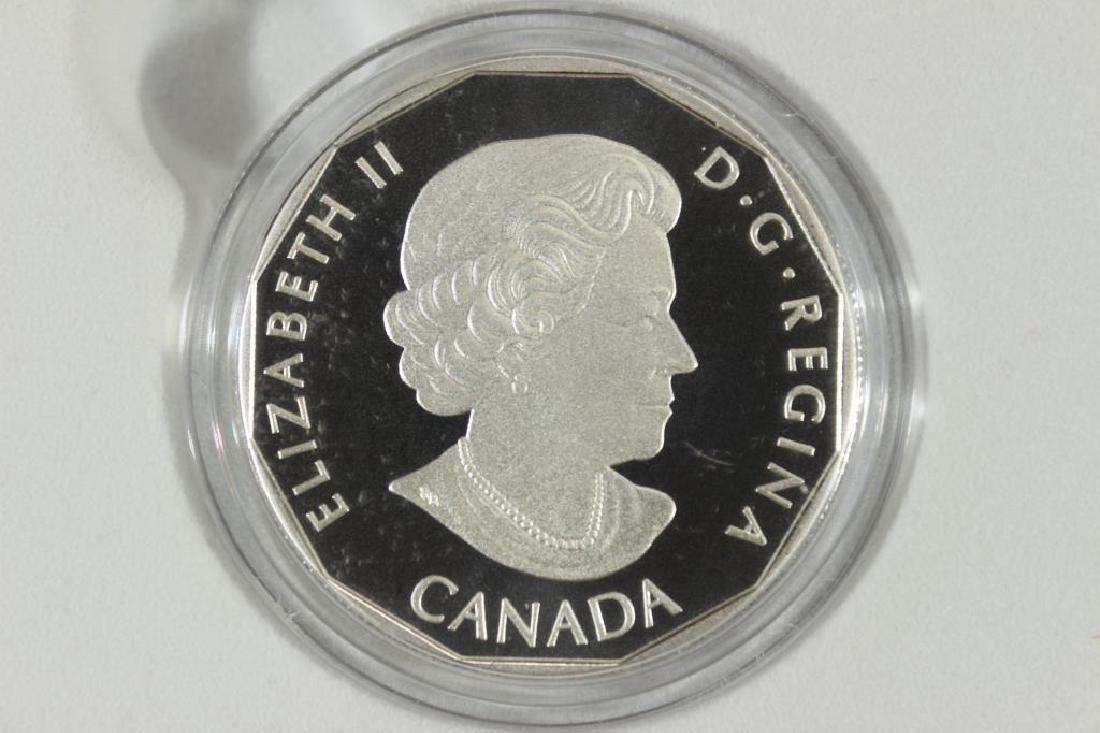 2015 CANADA $10 FINE SILVER COIN D.C. COMICS - 2