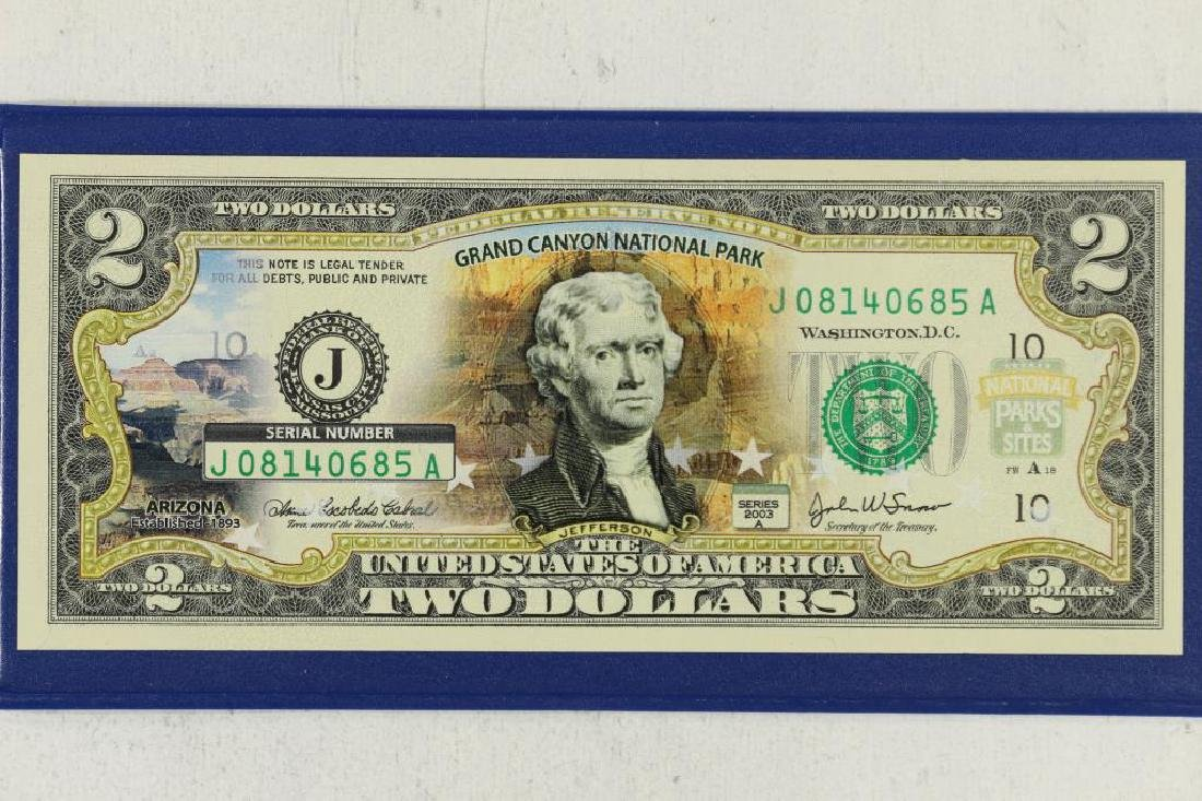 2003 -A US $2 FEDERAL RESERVE NOTE WITH - 2
