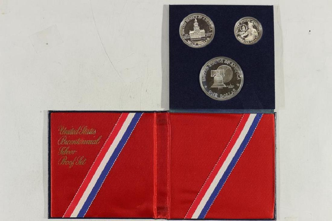1976-S US BICENTENNIAL SILVER PROOF SET - 2