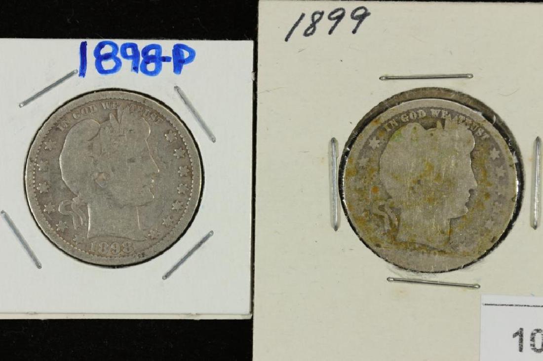 1898 & 1899 BARBER QUARTERS