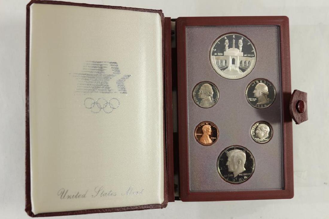 1984 US PRESTIGE PROOF SET OLYMPIC