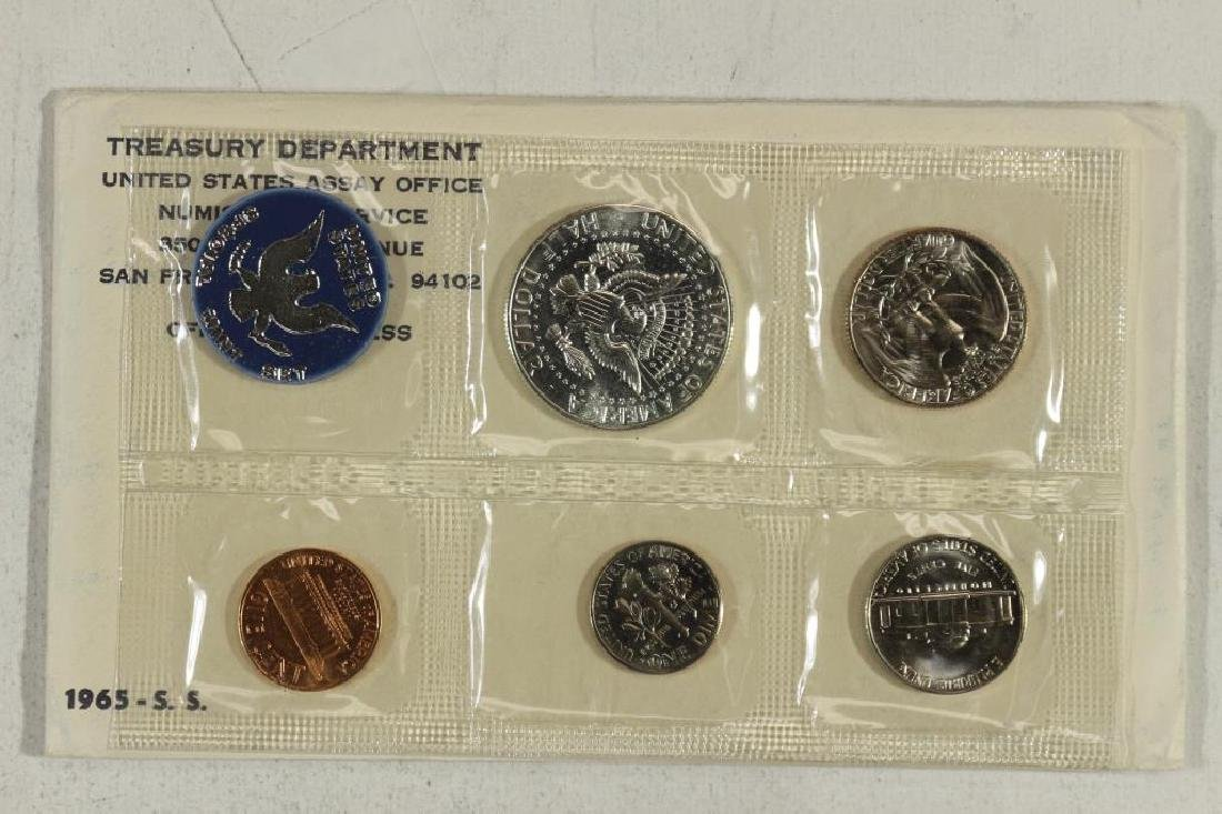 1965 US SPECIAL MINT SET WITH ENVELOPE - 2
