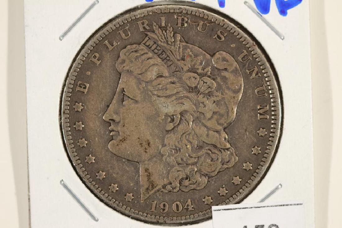 1904 MORGAN SILVER DOLLAR