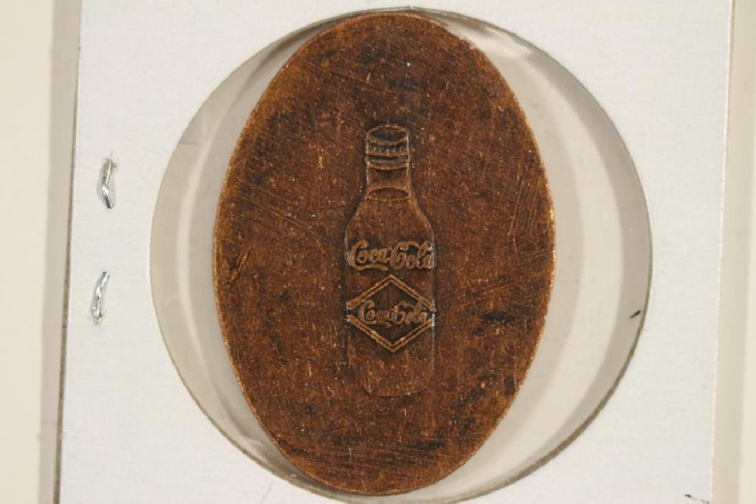 COCA-COLA ARMY AND NAVY FREE BOTTLE TOKEN - 2