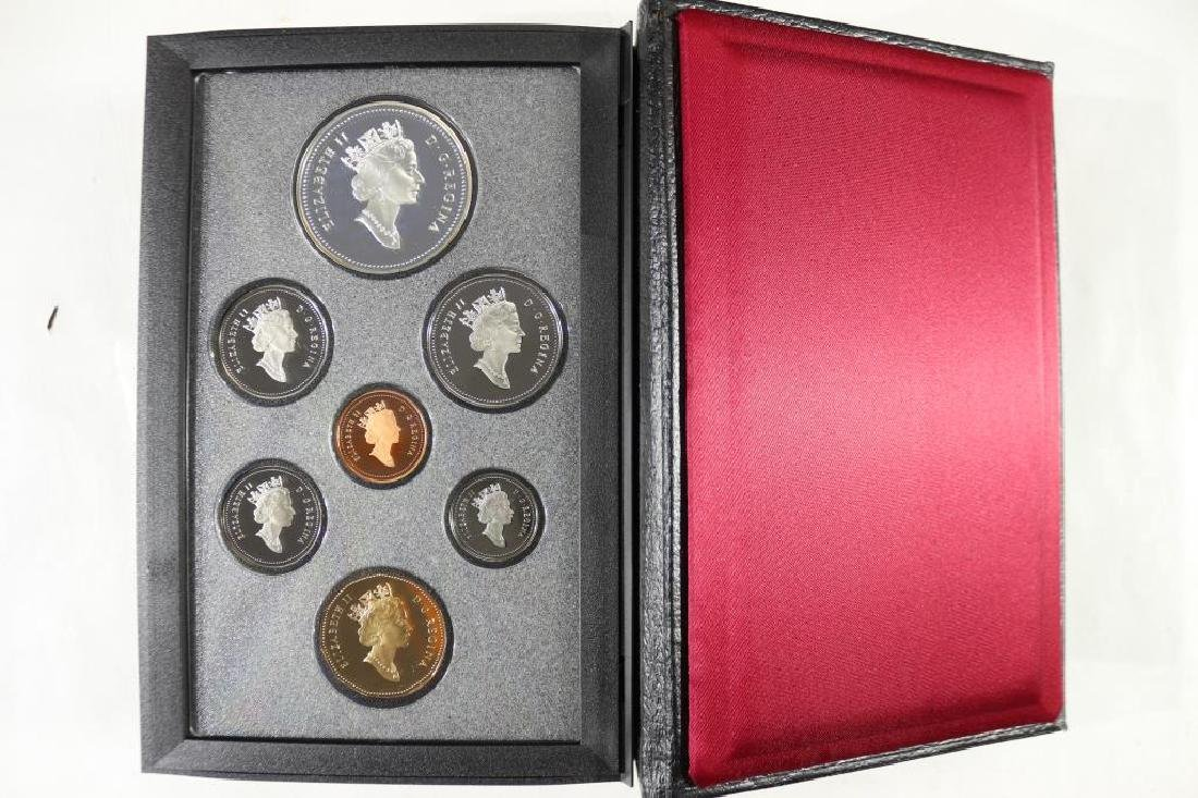 1995 CANADA DOUBLE DOLLAR PROOF SET - 2