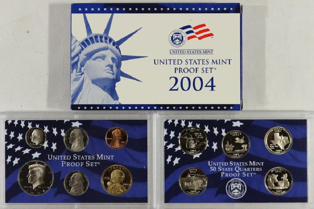 2004 US PROOF SET (WITH BOX)