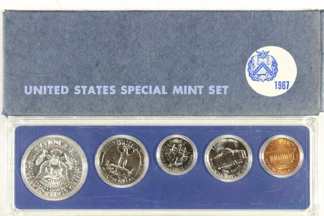 1967 US SPECIAL MINT SET WITH BOX - 2