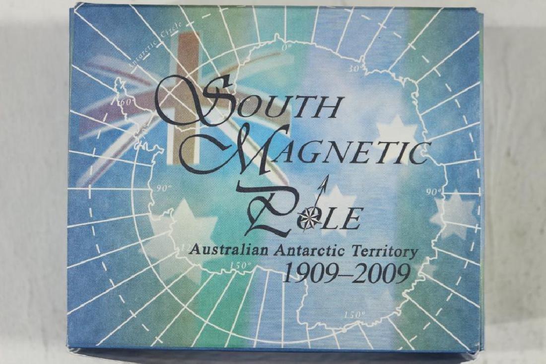 2009 AUSTRALIA SILVER DOLLAR SOUTH MAGNETIC POLE - 3