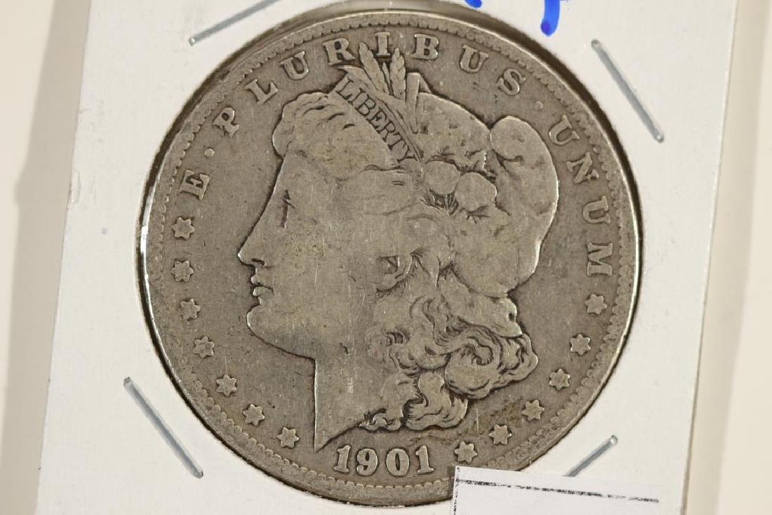 1901 MORGAN SILVER DOLLAR MARKER ON REV.