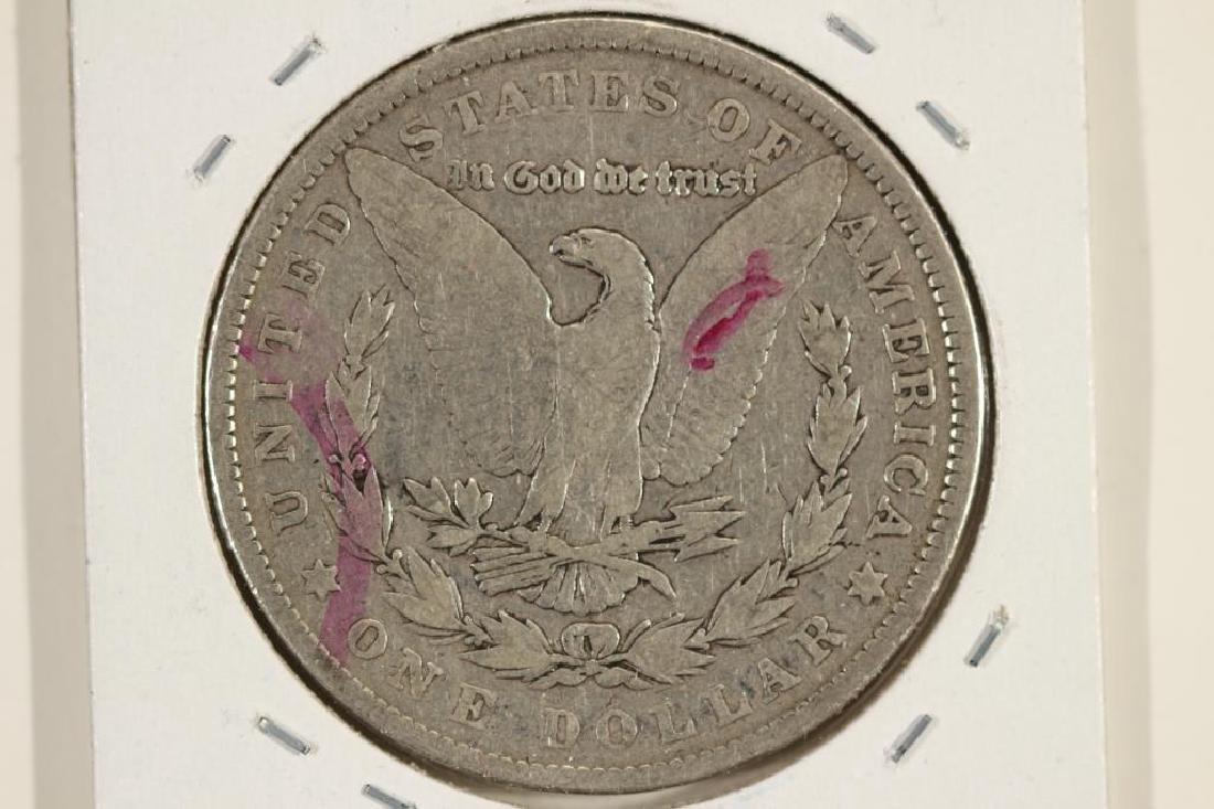 1901 MORGAN SILVER DOLLAR MARKER ON REV. - 2